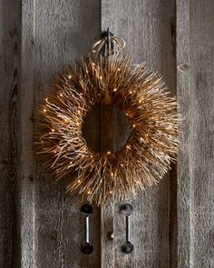 Our editors love this natural wreath! Get it here: http://www.bhg.com/shop/horchow-nito-vine-brush-wreath-p5217596ee4b00aeb9052ff0b.html