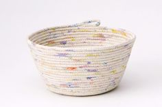 diy rope bowl: a pair and a spare