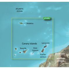 Garmin BlueChart® g2 Vision® - VAF450S - Madeira & Canary Islands - microSD™/SD™