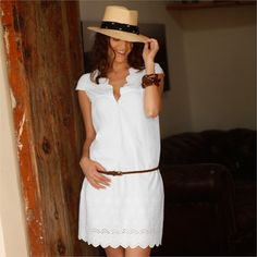 Šaty s angl. Deep Autumn, Blouse, Womens Fashion, Fashion Trends, White Dress, Sequins, Spring Summer, Boho, Elegant