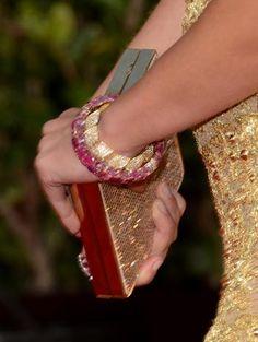 Emily Blunt Golden Globes Nails 2013   Primped