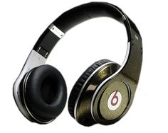 Beats by Dr Dre Studio Colorful Champagne Headphones