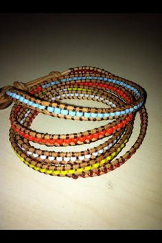 Beaded bracelets by dodimatto on Etsy