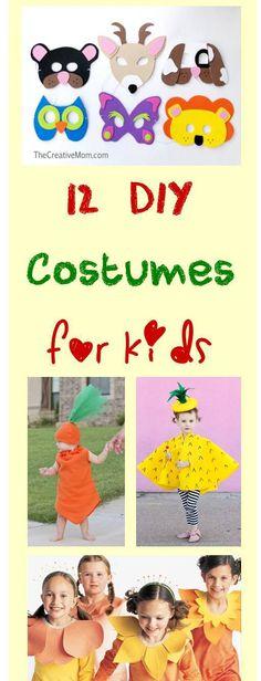 12 simple DIY kids costumes