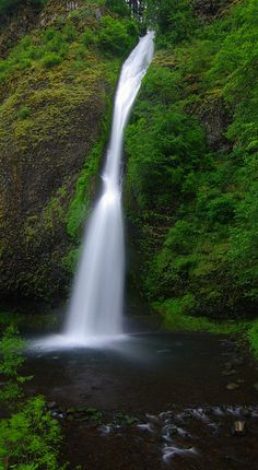 Horsetail Falls by John Behrends, via Flickr