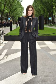 Carine Roitfeld at the Giorgio Armani 40th Anniversary