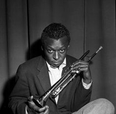 Miles Davis,  1957. Photo by Charlie Davidson