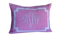 Lumbar Nursery Pillow covers, Nursery Pillow decor, Gifts for Her, Home Decor, Monogram Nursery Decor, Lumbar personalized Nusery Decor