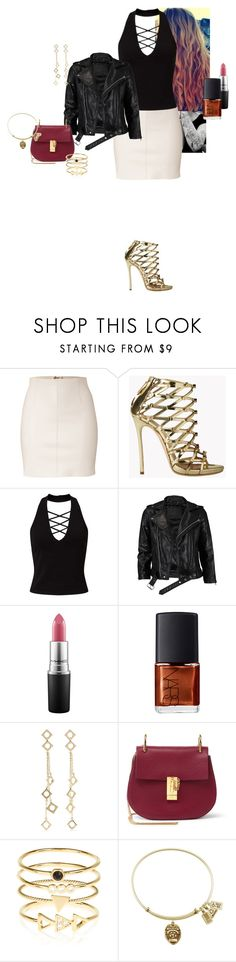 """""""Alicia-Kathleen """"Kat"""" Layden - Waiting For Superman (2)"""" by katlayden ❤ liked on Polyvore featuring Dsquared2, Miss Selfridge, VIPARO, MAC Cosmetics, NARS Cosmetics, Arme De L'Amour, Chloé and Accessorize"""