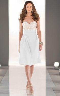 Sweetheart A-line Satin Zipper Knee-length Dresses