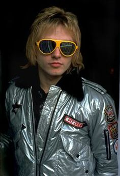 The Cars' Benjamin Orr in 1978. Orr died of pancreatic cancer Oct. 3, 2000. He was 53