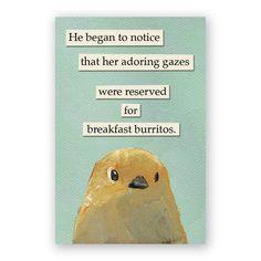 "Magnets – tagged ""Mincing Mockingbird"" – The Mincing Mockingbird & The Frantic Meerkat Funny Memes, Hilarious, Jokes, Bird Meme, Mocking Birds, Bird Quotes, Funny Birds, Breakfast Burritos, Lol"
