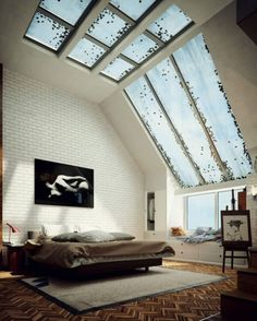 Amazing Glass Ceiling Design for Your Inspirations