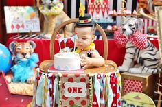 Circus Birthday Party Ideas | Photo 1 of 36 | Catch My Party