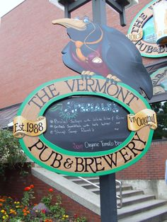 Vermont Pub & Brewery -- Great Food, Great Drinks, Great Atmosphere. @vtpubandbrew #btv