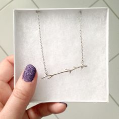 Bay to Bubbles ‣ Posey Branch Necklace