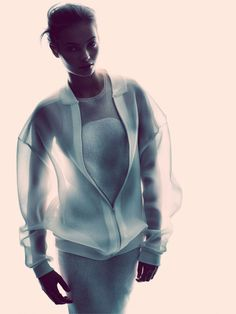 sheer white sports luxe Follow us! http://linaasselienstyleblog.tumblr.com/    see you soon! #linaasselien