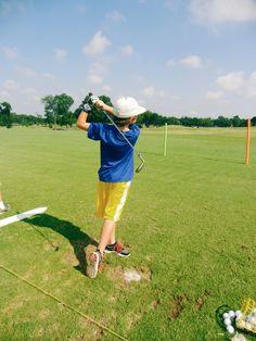A swing for life. #wellness #GolfMadeFun #summercamp #JuniorGolf