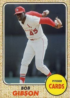 Bob Gibson MLB Baseball lowered the mound because he was too dominant St Louis Baseball, St Louis Cardinals Baseball, Baseball Star, Stl Cardinals, Sports Baseball, Baseball Players, Baseball Cards, Baseball Photos, Sports Photos