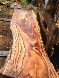 Koa Wood, A beautiful bench or table with this wood would be beautiful.....