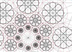 #fractal #geometry #symmetry #handmade #mathart #regolo54 #islamic_art