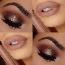 Resultado de imagem para golden makeup