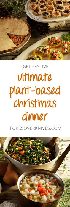 Create a plant-based Christmas dinner that will impress everyone around the holiday table—vegans, vegetarians, and omnivores alike—with these tasty recipes.