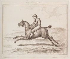 And they're off! Horse and Rider, artist Unknown, from @nationalportraitgallery. Check out more of the collections available at @artiqgram #etching #art #grandnational