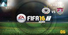 "Let's Play FIFA 16 Demo #06 - ""Deutschland(F) vs USA(F)"" [XBox360 Gamepl..."