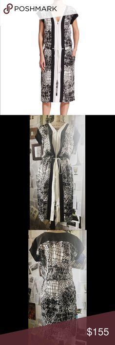 Selling this Vince. Silk Dress | 4 on Poshmark! My username is: terfner. #shopmycloset #poshmark #fashion #shopping #style #forsale #Vince #Dresses & Skirts