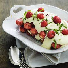 Hindbær-tiramisu