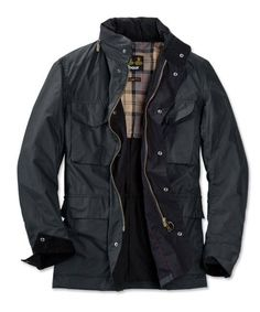 Barbour® Tailored Sapper Jacket — Really want this 😍 Barbour Jacket Mens, Bomber Jacket Men, Waxed Cotton Jacket, Wax Jackets, Looking Dapper, Field Jacket, Gentleman Style, Sweater Jacket, Clothing Items