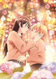 Bloom Into You anime info and recommendations. Yuu has always loved shoujo manga and awaits the d. Anime Girlxgirl, Hetalia Anime, Yuri Anime, Anime Art, Super Anime, Lesbian Art, Lesbian Couples, Anime Lindo, Girls Anime