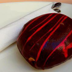 Americano de chocolate y frambuesa