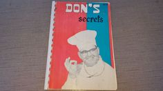 Dons Secrets 1958 Landry Steak House Seafood Louisiana NOLA Cajun Vtg Cookbook