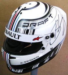 Custom Painted Bell Kart Helmet #127 ~ Helmets4Fun - Hand Painted Helmets