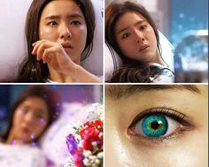 The colors are really pretty in this drama! The girl who can see smell