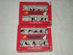 Kurt Adler's Peanuts (Snoopy) 16 ft. Plastic Indoor/Outdoor String Light Set
