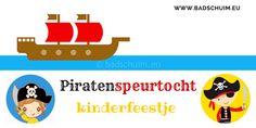 Piratenspeurtocht: lees hier hoe makkelijk jij deze ook in elkaar zet voor een kinderfeestje. Inclusief spelletjes en piraten diploma: gratis!