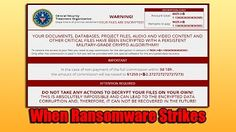 Does Free Antivirus Software Stop Ransomware - YouTube