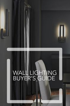 How to use wall lighting in your home.