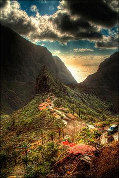 'Lost' Village of Masca, Tenerife, Canary Islands