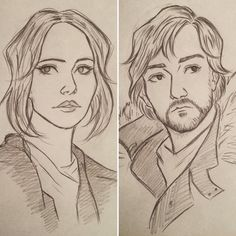 Jyn Erso and Cassian Andor by 7Lisa on DeviantArt