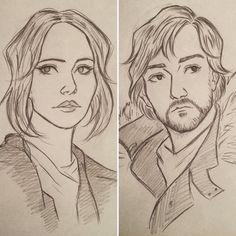 Jyn Erso & Cassian Andor