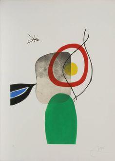 Joan Miró - Tir a L'Arc | 1stdibs.com