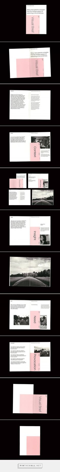 Visual Brief on Behance... - a grouped images picture - Pin Them All