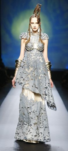 haute couture + Gaultier