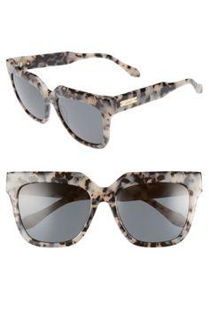 a4d0ae01ecc Sonix Sonix Avalon 55mm Gradient Lens Square Sunglasses available at   Nordstrom Cute Glasses
