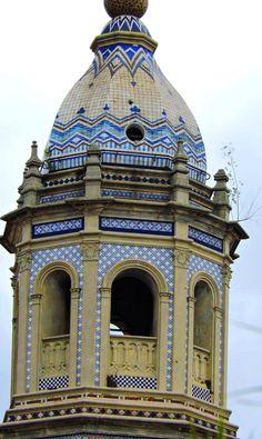 Cupula de la Iglesia de San Pedro Telmo, Buenos Aires
