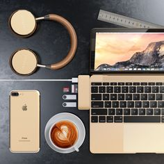 11 Best Gold images in 2019   Macbook, Desk setup, Computer